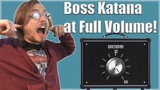 Boss Katana Mic'd at Full Volume: Junk or Glory?!