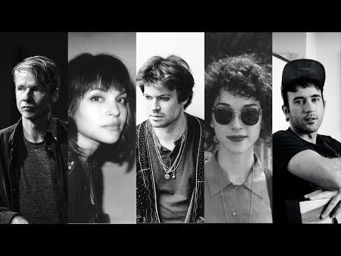 Burgundy Stain Sessions NYC 2017 - Norah Jones, Thomas Bartlett, St. Vincent