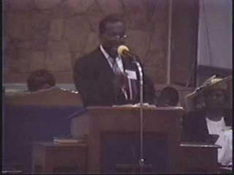 Bishop David L. Ellis - I Am God Part 1