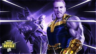 The Absolute Best Way To Dispose of Thanos (Fortnite Battle Royale)