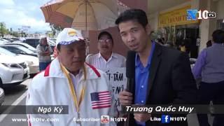 Có Không Cộng Sản Mặc Đồ Lính Việt Nam Cộng Hòa Chào Cờ Tại Little Saigon ? Ngô Kỷ Tố Cáo
