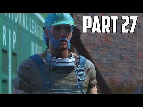 """Fallout 4 Walkthrough - Part 27 """"VALENTINE, YOU'RE USELESS"""" (Let's Play, Playthrough)"""