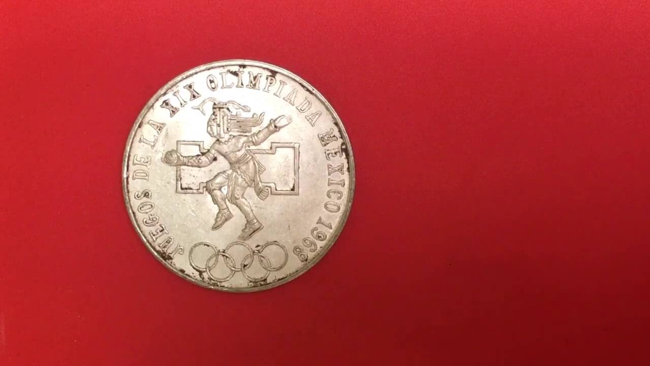 1968 Mexico 25 Pesos 0 720 Detalles Y Valor Youtube