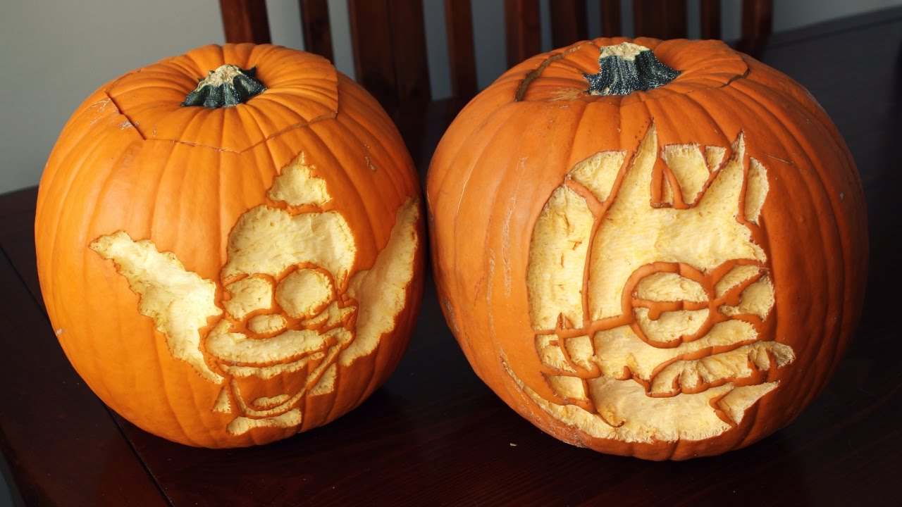 carving pumpkins 2016 the simpsons youtube rh youtube com