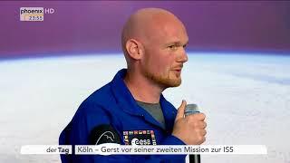 Pressekonferenz mit Alexander Gerst vor seinem zweiten Flug zur ISS am 17.04.18