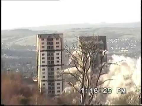 Castlemilk Demolition 2005