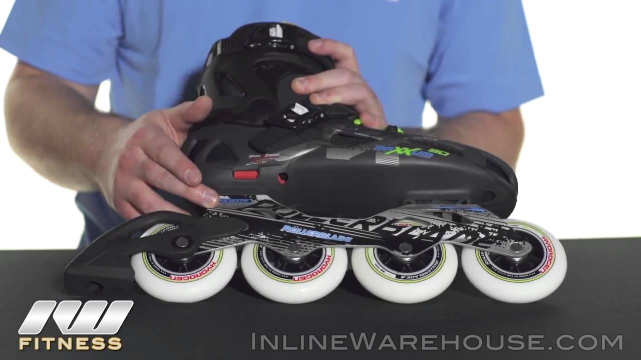 90 Skates Review Maxxum Urban Rollerblade Inline mON8ny0vw