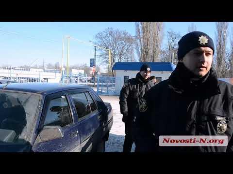 Видео 'Новости-N': В Николаеве пьяный водитель убегал от полиции