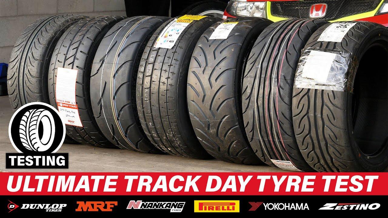Download The ULTIMATE Track Day Tyre Test! (2021) - Dunlop, MRF, Nankang, Pirelli, Yokohama, Zestino!