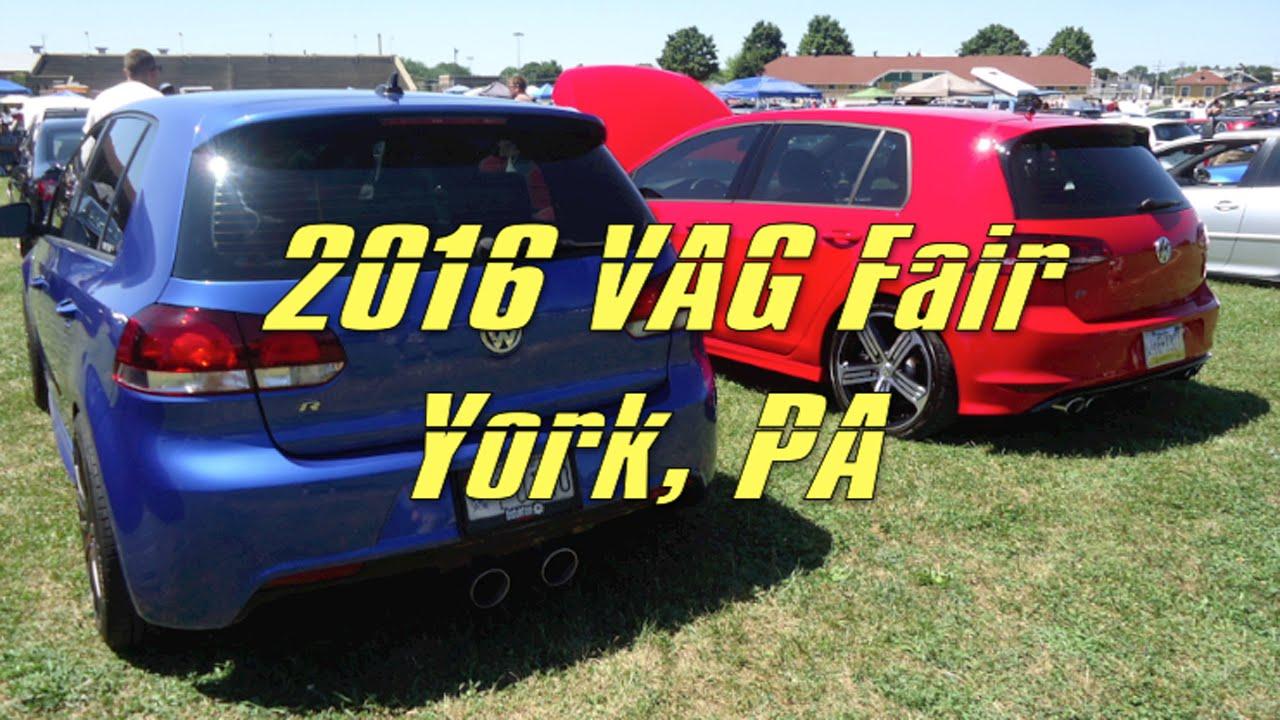 VAG Fair Th Anniversary VW Audi Car Show Pics York PA - Car show york pa