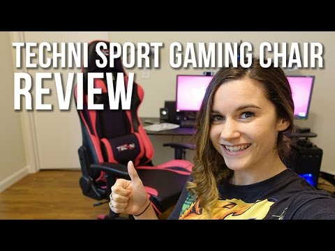 Review Techni Sport Office Pc Gaming Chair Youtube