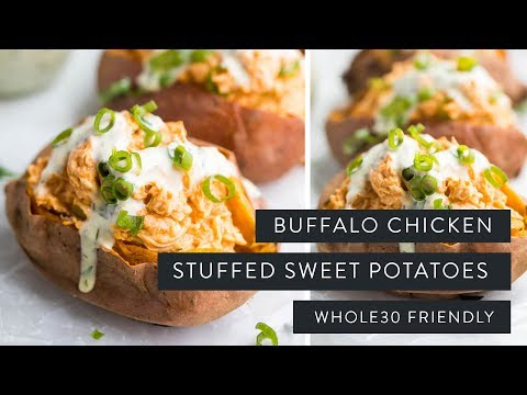 Steps to make Curry Stuffed Sweet Taters