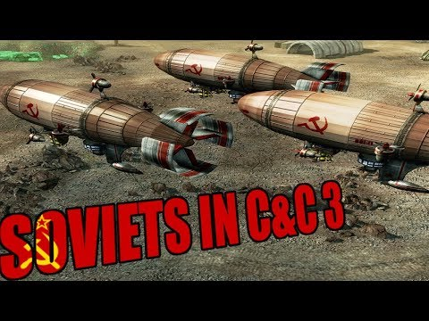 Playing as Soviets in Command and Conquer 3 Tiberium Wars 2019 |