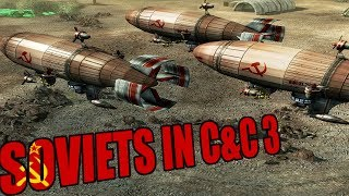 Playing as Soviets in Command and Conquer 3 Tiberium Wars 2019