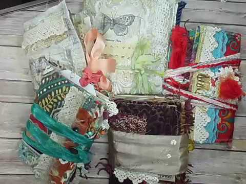 |Sewn Bohemian Junk Journals| Textile Journals Part 4/4 Tips and Tricks
