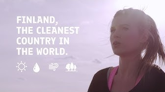 Finland, one of the cleanest country in the world