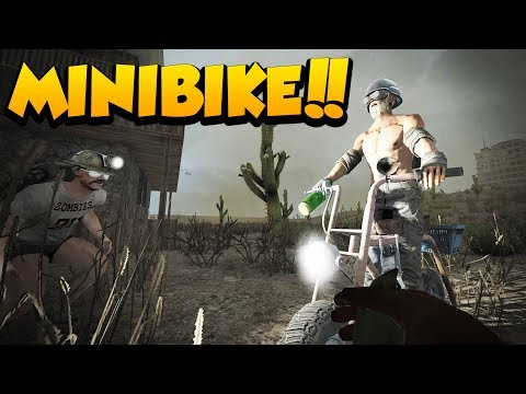 MINIBIKE IS DONE! - 7 Days to Die Alpha 16 Multiplayer Gameplay #29