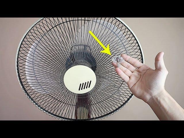 清理風扇灰塵不用拆!教你這一招,把風扇的灰塵立刻清理乾淨!像新的一樣!