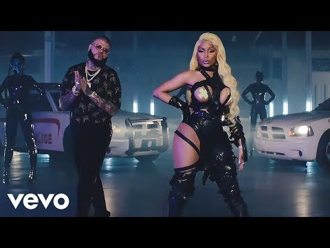 Farruko, Nicki Minaj, Bad Bunny  Krippy Kush Remix ft Travis Scott, Rvssian