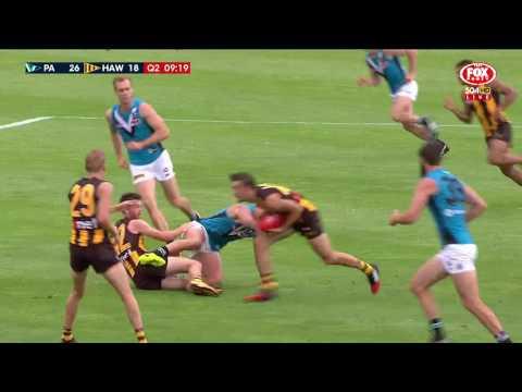 JLT Community Series Highlights: Port Adelaide v Hawthorn