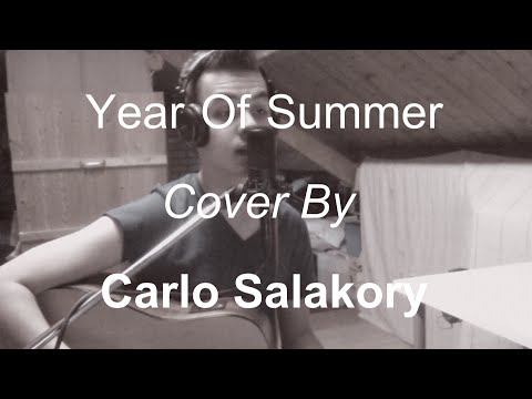 Wildstylez ft. Niels Geusebroek - Year of Summer (Acoustic cover by Carlo Salakory)
