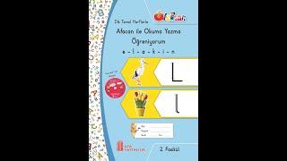 Afacan Okuma Yazma L harfi - 6