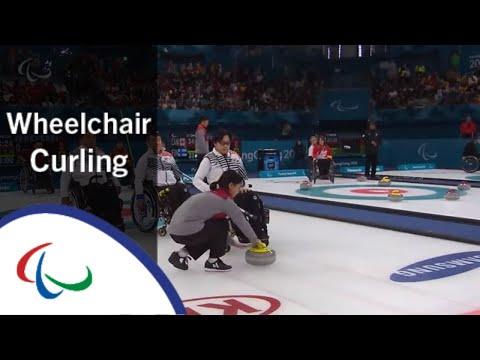 China v Korea | Round Robin | Wheelchair curling | PyeongChang2018 Paralympic Winter Games