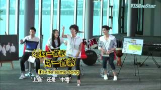 [1080P][Eng Sub][Full]140905 EXO The Strongest Group 最强天团
