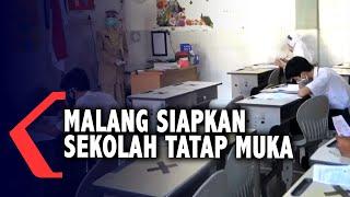 Zona Oranye Covid-19, Pemkot Malang Siapkan Sekolah Tatap Muka
