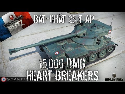 Bat-Chat 25 T AP - 15,000 Dmg Heart Breakers