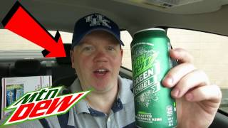 Reed Reviews Mountain Dew Green Label