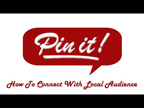 Connect With Local Audience Using Pinterest