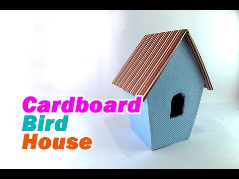how to make bird wings from cardboard