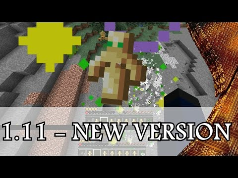 Minecraft - Nouvelle Version 1.11 - Totem d'Immortalité, Sac à Dos, Manoir