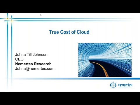 The True Cost of Cloud