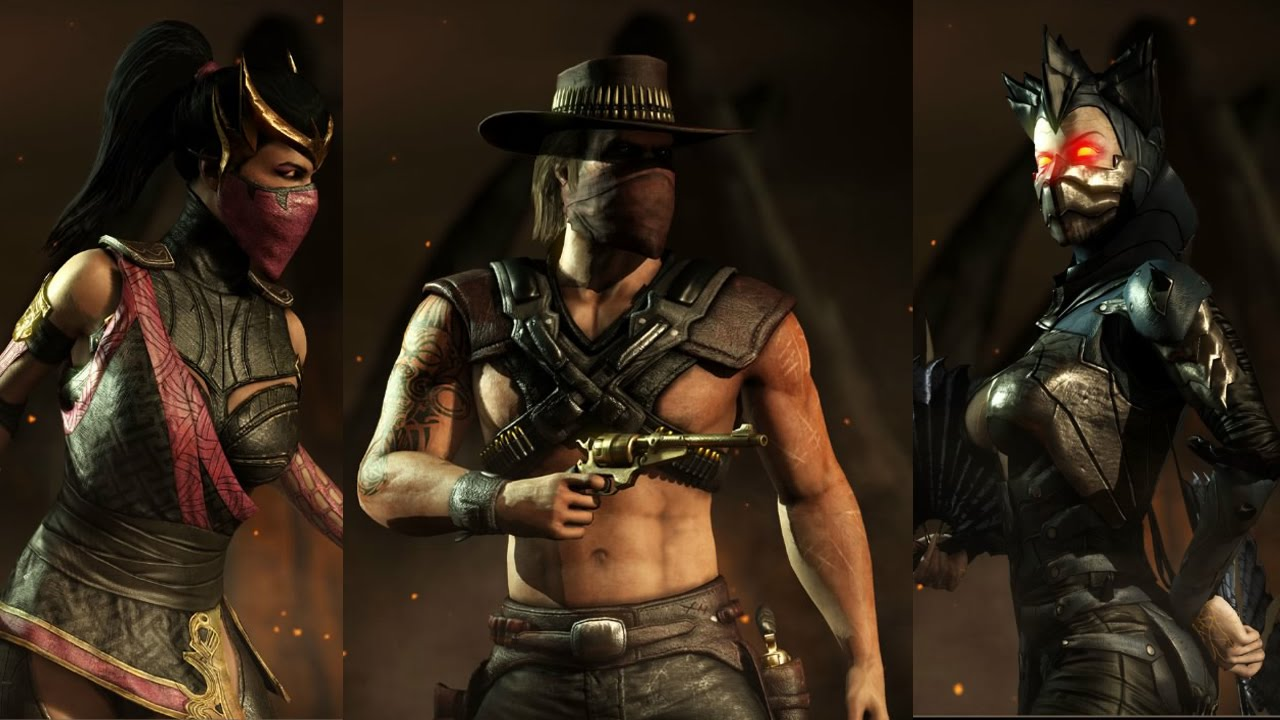 mortal kombat x characters costumes skins 1 youtube