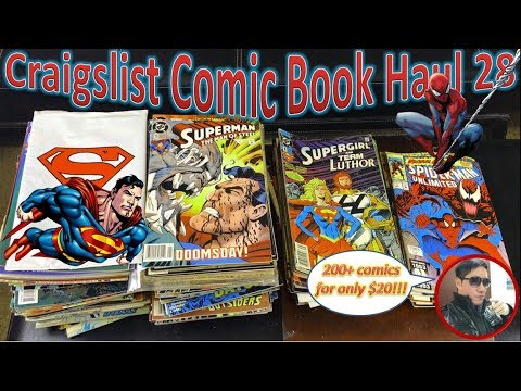 Craigslist Comic Book Haul 28 | 200+ Comics For $20!