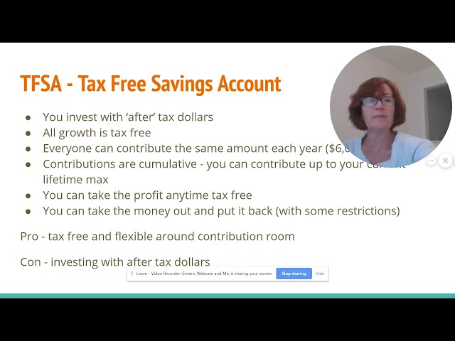 RSP vs TFSA - which account to use for investing