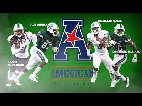 Tulane Football 2017 American Athletic Conference Media Days, Player Announcement