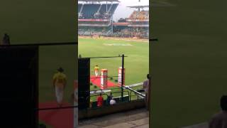 Entry Of Dhoni In TNPL with CSK JERsEY