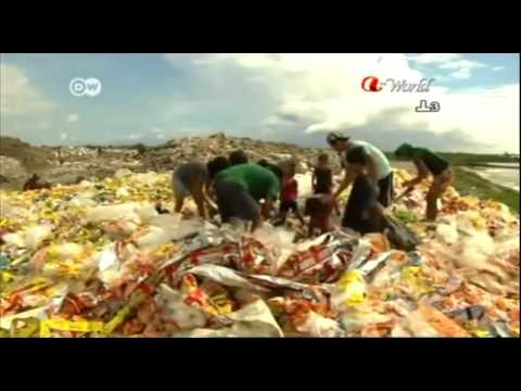Global 3000  Philippines   Children Living on Garbage Dump