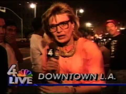 Los Angeles Riots 1992 - News Clips