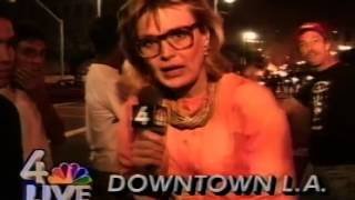 Los Angeles Riots 1992 - News Clips
