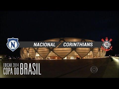 Melhores Momentos - Nacional-AM 0 x 3 Corinthians - Copa do brasil 2014 - 30/04/2014