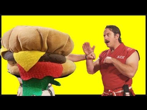 Master Ken vs. Burger
