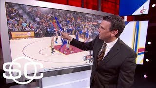 Ben Simmons does something on defense vs LeBron James that we almost never see | SportsCenter | ESPN