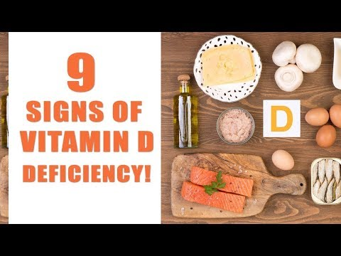9 Signs of Vitamin D Deficiency
