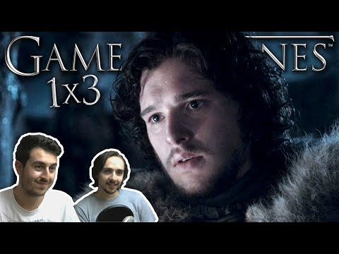"Game of Thrones Season 1 Episode 3 REACTION ""Lord Snow"""
