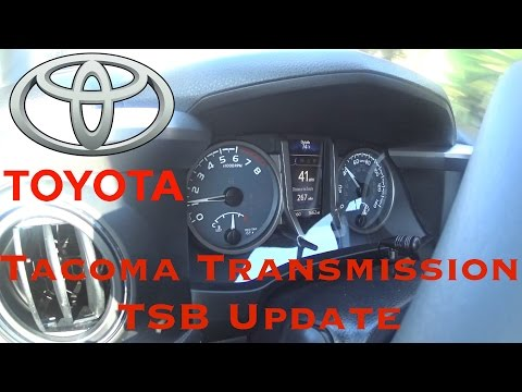 2016+ Tacoma Transmission TSB Update - TSB-0077-16 - Tim's