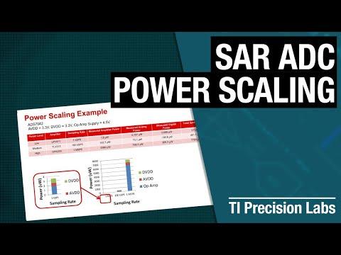 TI Precision Labs - ADCs: SAR ADC Power Scaling